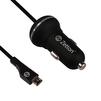 Автомобильное зарядное устройство USB + дата-кабель microUSB (ZTCC2AMC) (черный) - Автомобильное зарядное устройствоАвтомобильные зарядные устройства<br>Аксессуар предназначен для зарядки устройства от бортовой сети Вашего авто.<br>
