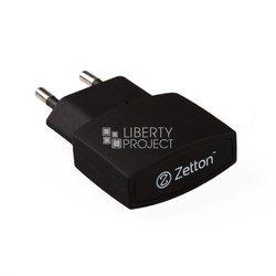 Сетевое зарядное устройство USB (ZTTC1A1U) (черный)