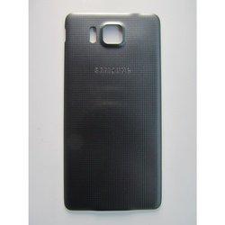 Крышка аккумулятора для Samsung Galaxy Alpha G850 (67946) (черный)