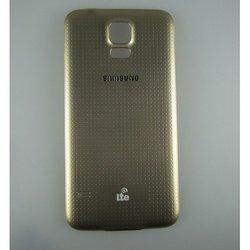 Крышка аккумулятора для Samsung Galaxy S5 G900F с водонепроницаемой защитой (65548) (золотистый)