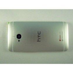 Крышка аккумулятора для HTC One M7 Dual Sim (66189) (белый)
