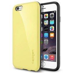 """Чехол для Apple iPhone 6, 6s 4.7"""" (Spigen Capella SGP11051) (лимонно-желтый)"""