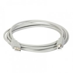 Кабель USB2.0 A-USB2.0 B 3.0м (Smartbuy K545-25)