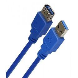 Кабель-удлинитель USB 3.0 Am-Af 1.8м (Smartbuy K870-25) (синий)