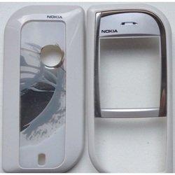 Корпус для Nokia 7610 без средней части (LP 227) (белый)