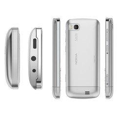 Корпус для Nokia C3-01 (CD020822) (белый)