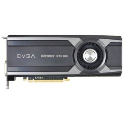 EVGA GeForce GTX 980 1241Mhz PCI-E 3.0 4096Mb 7010Mhz 256 bit DVI HDMI HDCP Superclocked