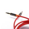 Аудио кабель mini jack 3.5 mm (m) - mini jack 3.5 mm (m) (ZTLSAUX1BR) (красный) - Кабель, разъем для акустической системыКабели и разъемы для акустических систем<br>Кабель mini jack 3.5 mm (m) -  mini jack 3.5 mm (m) позволяет воспроизводить музыку с телефона на стерео системе, звуковой карте, домашнем кинотеатре или другом устройстве, имеющем разъем 3,5 мм.<br>