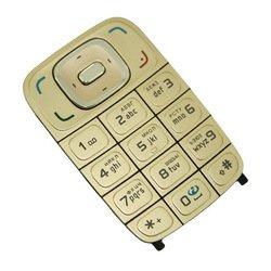 Клавиатура для Nokia 6131 (CD004345) (золотистый)