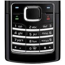 Клавиатура для Nokia 6500 slide (CD003943) (черный)