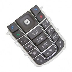 Клавиатура для Nokia 6230 (LP 75) (черный)