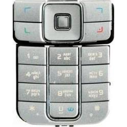 Клавиатура для Nokia 6270 (LP 321) (серебристый)