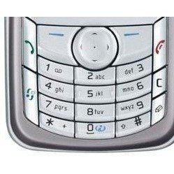 Клавиатура для Nokia 6680 (LP 329) (серебристый)