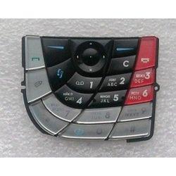 Клавиатура для Nokia 7610 (LP 703) (черный, красный)