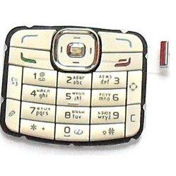 Клавиатура для Nokia N70 (LP 76) (бежевый)