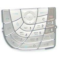 Клавиатура для Nokia 7610 (CD000356) (белый)