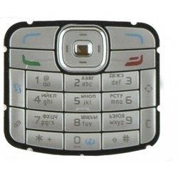 Клавиатура для Nokia N70 (CD000363) (серебристый)