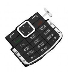 Клавиатура для Nokia N72 (CD000338) (черный)