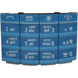 Клавиатура для Nokia X3-02 (CD014208) (синий)