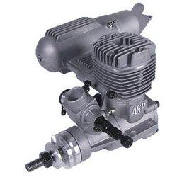 Двигатель внутреннего сгорания для радиоуправляемых самолетов (ASP S46A)