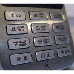 Клавиатура для Samsung C3322 (CD124513) (серебристый)