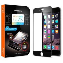 "�������� ������ ��� apple iphone 6 4.7"" spigen screen protector full cover glass (sgp11376) (������)"