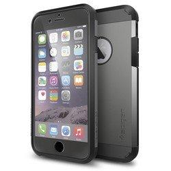 """Чехол-накладка для Apple iPhone 6, 6s 4.7"""" (Spigen Tough Armor FX SGP11281) (стальной)"""