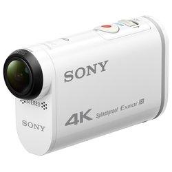Экшн-камера Sony FDR-X1000V + водонепроницаемый бокс (SPK-X1) + крепление (VCT-AM1)