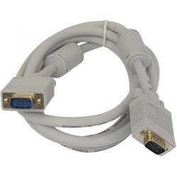 Кабель VGA 15M-VGA 15M (Gembird/Cablexpert CC-PVGA-10) (серый)