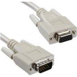 Кабель-удлинитель VGA 15M-VGA 15F (Gembird/Cablexpert CC-PVGAX-6) (серый)