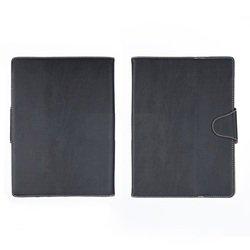 """Универсальный чехол-книжка для планшетов 10"""" (SM001586) (черный)"""