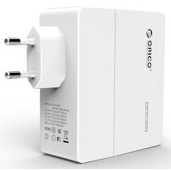 Сетевое зарядное устройство Orico DCA-4U-WH (белый)