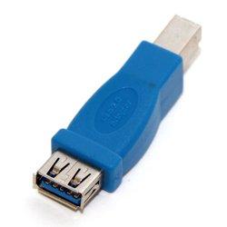 Переходник USB AF-BM (5bites USB3002) (синий)