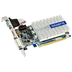 GIGABYTE GeForce 210 520Mhz PCI-E 2.0 1024Mb 1200Mhz 64 bit DVI HDMI HDCP RTL