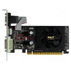 Palit GeForce 210 589Mhz PCI-E 2.0 512Mb 1250Mhz 32 bit DVI HDMI HDCP Black BULK