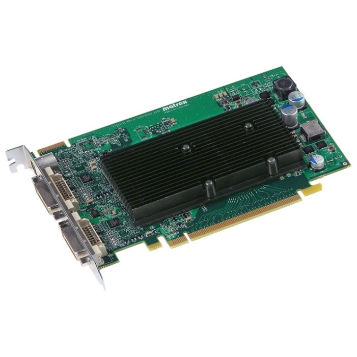 Matrox m9120 pci e 512mb 128 bit 2xdvi for Arquitectura 128 bits