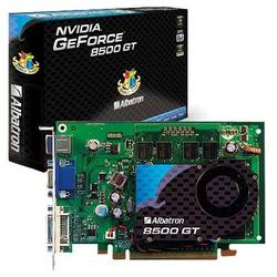 albatron geforce 8500 gt 450mhz pci-e 256mb 800mhz 128 bit dvi tv