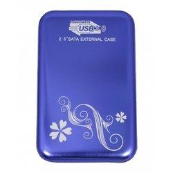 "Корпус для HDD 2.5"" USB 3.0 (Palmexx PX/HDDBox3.0-2Tb blue) (синий)"