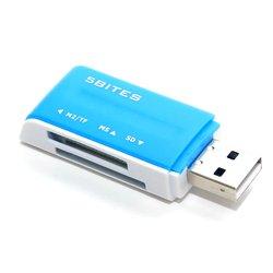 Картридер 5bites RE2-102BL (синий)