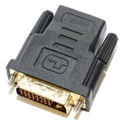 Переходник HDMI 19F - DVI 25M (5bites DH1803G)