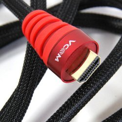 Кабель HDMI 19M-HDMI M 1.8м (VCOM CG526S-1.8MR) (красный)