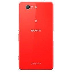 Задняя крышка для Sony Xperia Z3 Compact (0L-00000605) (красный)
