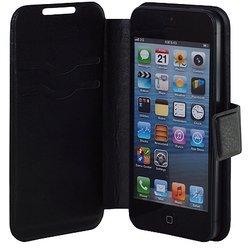 """Универсальный чехол-книжка для телефонов 3.5-4.2"""" (iBox SLIDER Universal YT000006658) (черный)"""