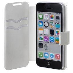 """Универсальный чехол-книжка для телефонов 4.2-5"""" (iBox SLIDER Universal YT000006660) (белый)"""