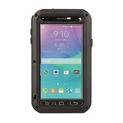 Чехол-накладка для Samsung Galaxy Note 4 (Palmexx Lunatik Love Mei PX/CH SAM N4 LOVE MEI Blk) (черный)