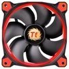 Thermaltake Riing 12 LED Red - Кулер, охлаждениеКулеры и системы охлаждения<br>Thermaltake Riing 12 LED Red - для корпуса, 1 вентилятор (120 мм, 1000-1500 об/мин), 24.6 дБ<br>