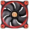 Thermaltake Riing 14 LED Red - Кулер, охлаждениеКулеры и системы охлаждения<br>Thermaltake Riing 14 LED Red - для корпуса, 1 вентилятор (140 мм, 1000-1400 об/мин), 28.1 дБ<br>