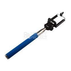 Монопод, палка для селфи с Bluetooth кнопкой для мобильных телефонов (0L-00000482) (голубой)
