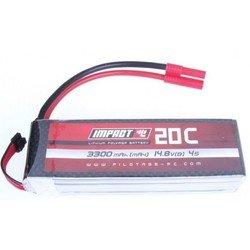 Аккумулятор для радиоуправляемых моделей 3300 мАч 14.8 В (Pilotage Impact RC12491)