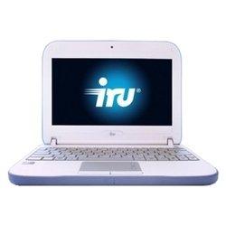 "iRu Intro 105 (Atom N550 1500 Mhz/10.1""/1024x600/1024Mb/750Gb/DVD нет/Intel GMA 3150/Wi-Fi/Win 7 Starter)"